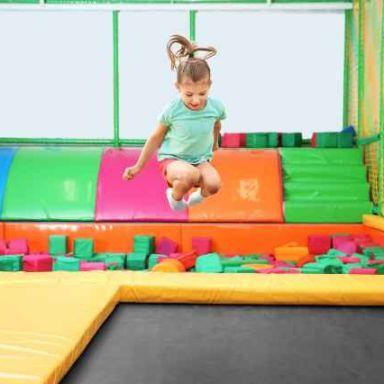 Indoor-playground-trampoline