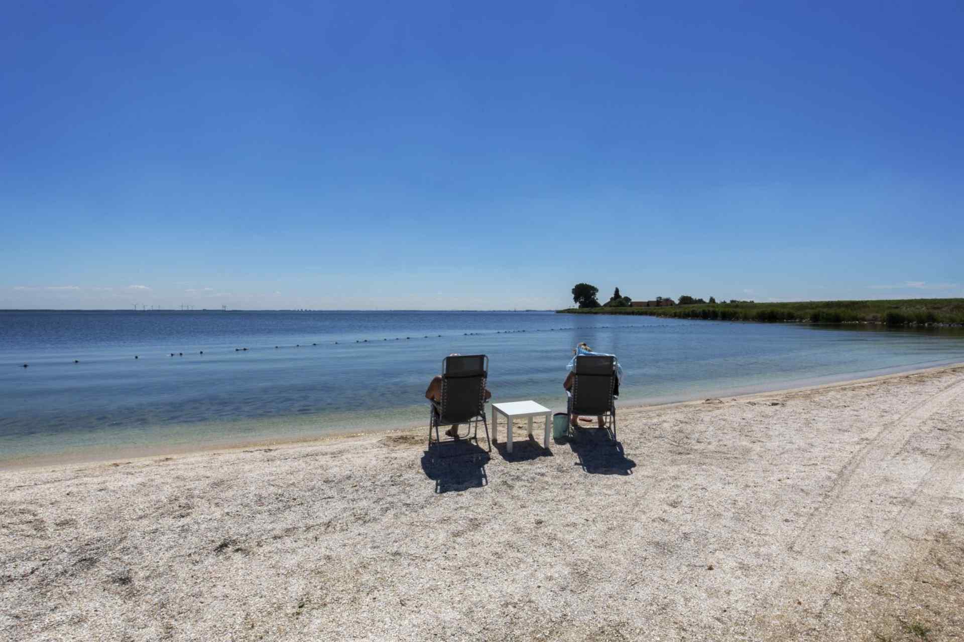 header camping jachthaven uitdam beach