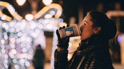 Christmas fair woman