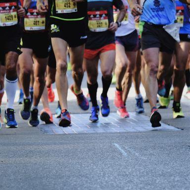 walk race marathon