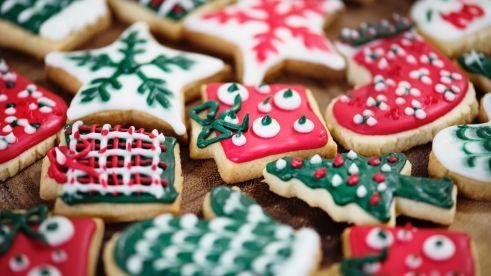 christmas cookies gingerbread