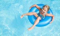 swimming pool child