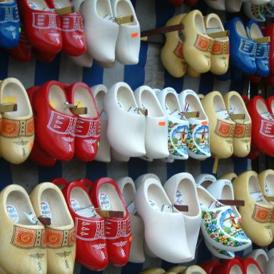wooden shoes klompen