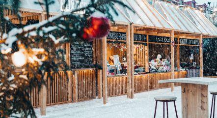 Christmas fair market