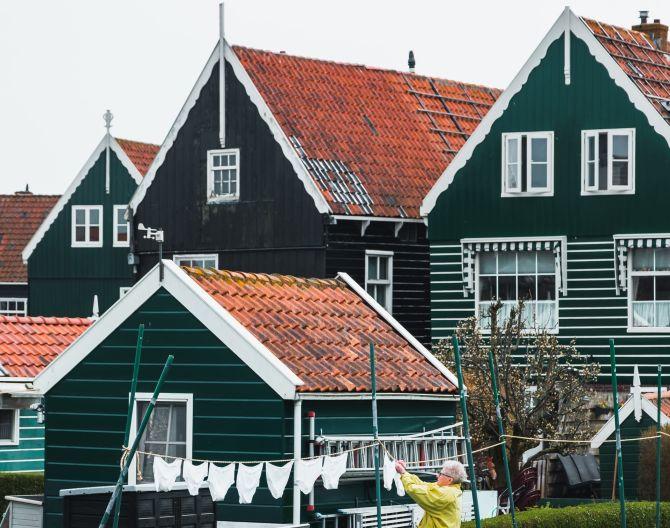 Marken houses