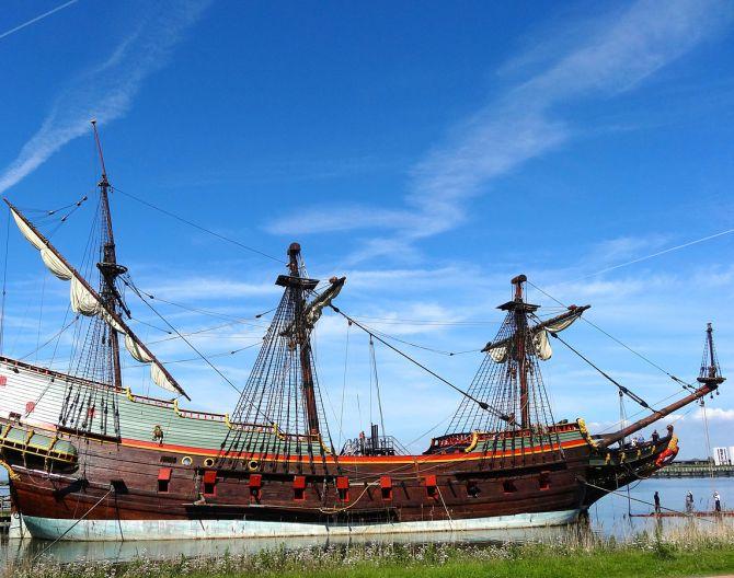 Batavia replica ship Lelystad