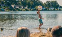 Kid playing swimmingpond-Europarcs-Limburg
