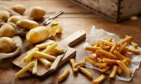 Food fries and potatoes