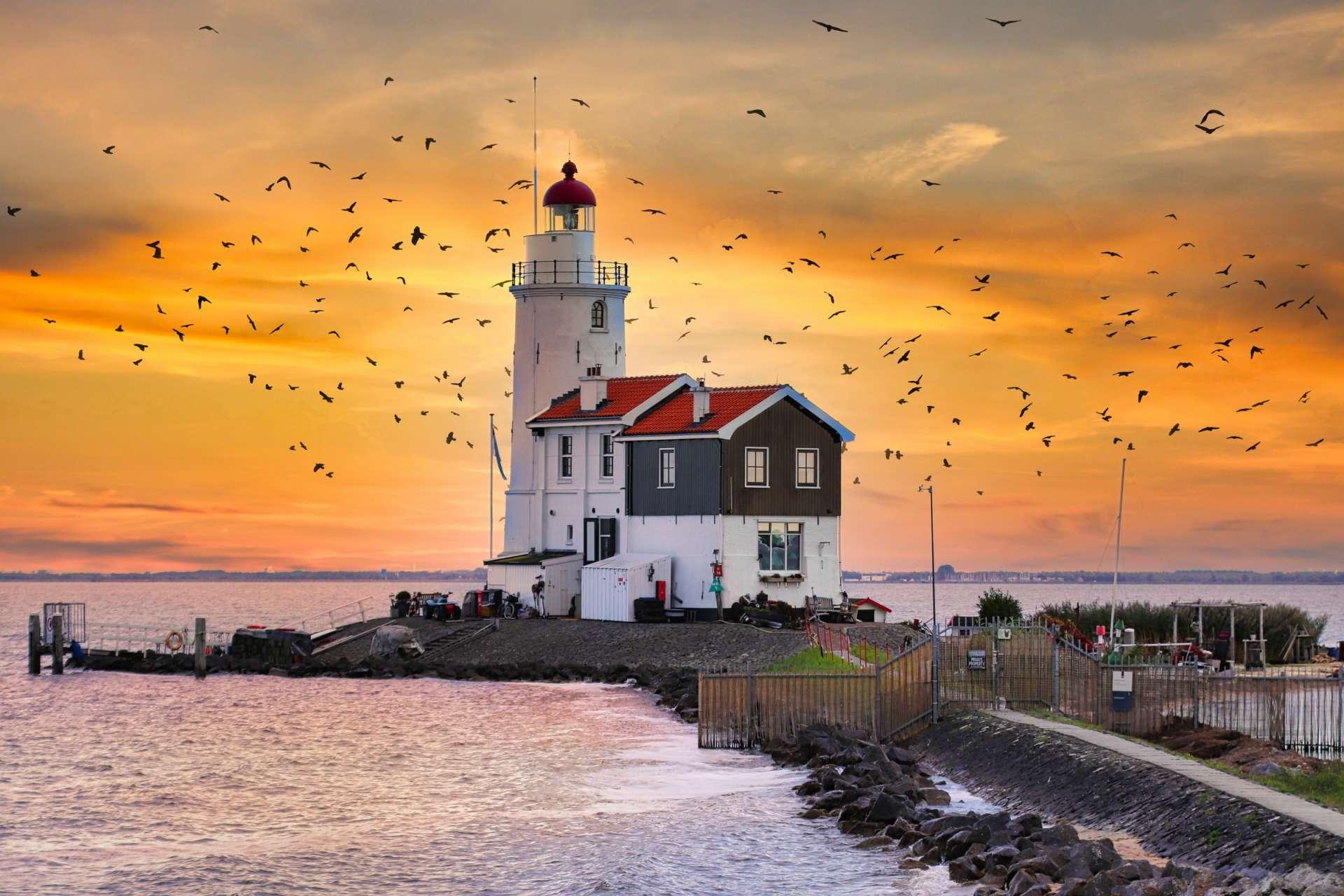 Marken lighthouse header