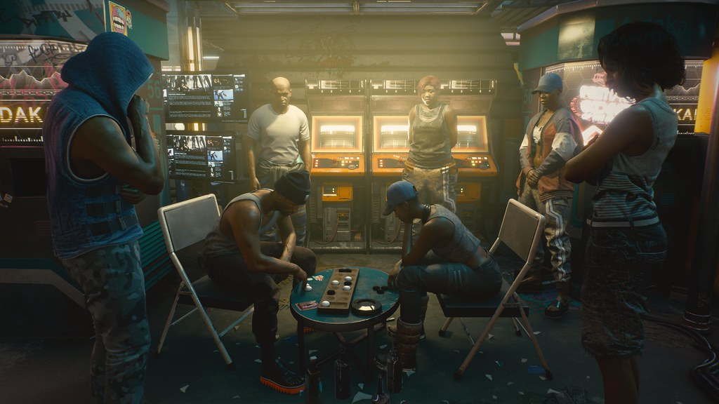 Grafika koncepcyjna z gry Cyberpunk 2077