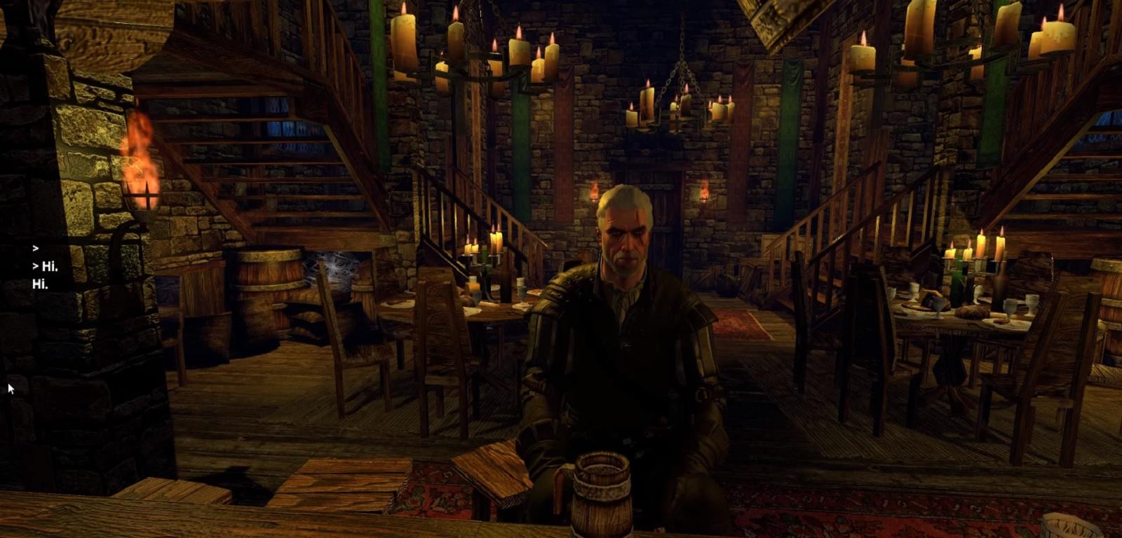 Geralt AI test