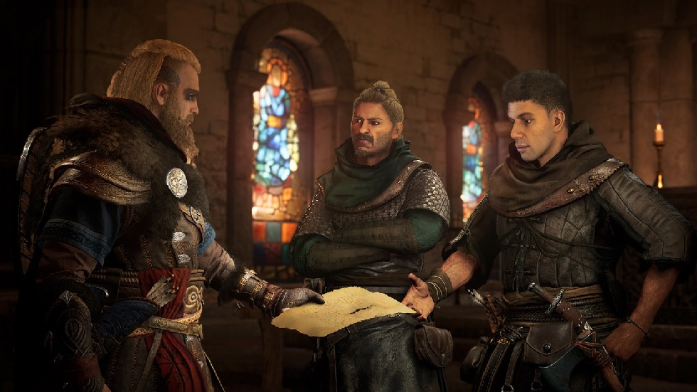 Scena z gry Assassin's Creed Valhalla