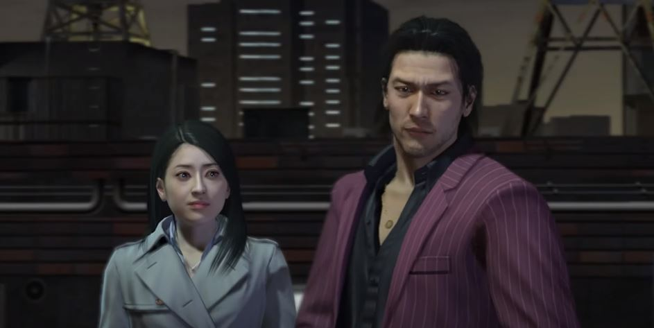Fragment filmu, pt. The Yakuza Remastered Collection - Announcement Trailer | PS4