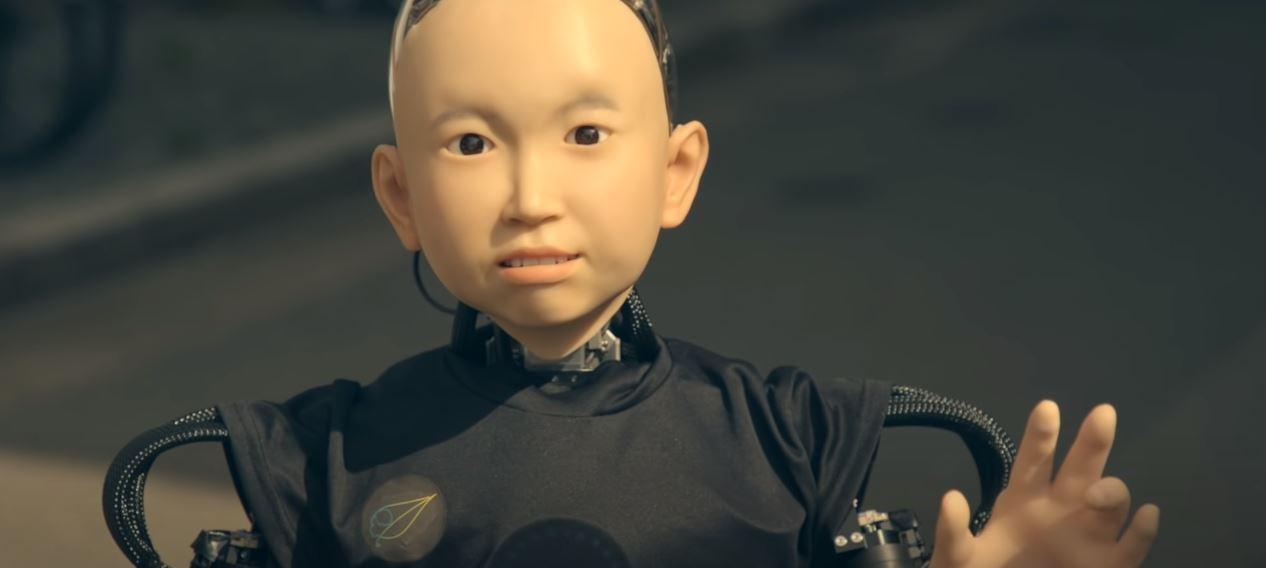 Ibuki - robot dziecko stworzony w Japonii.