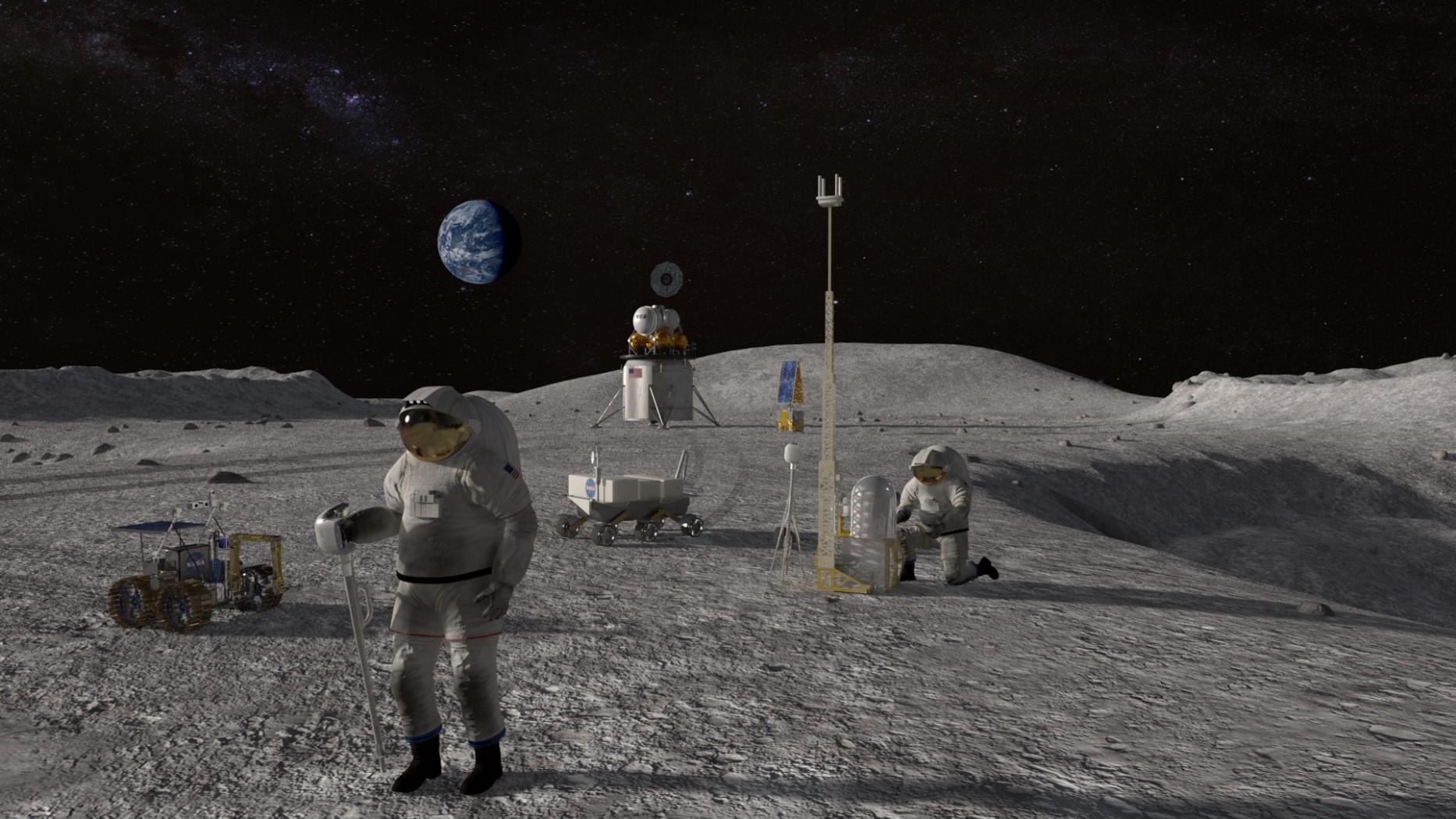 Ludzie na Księżycu