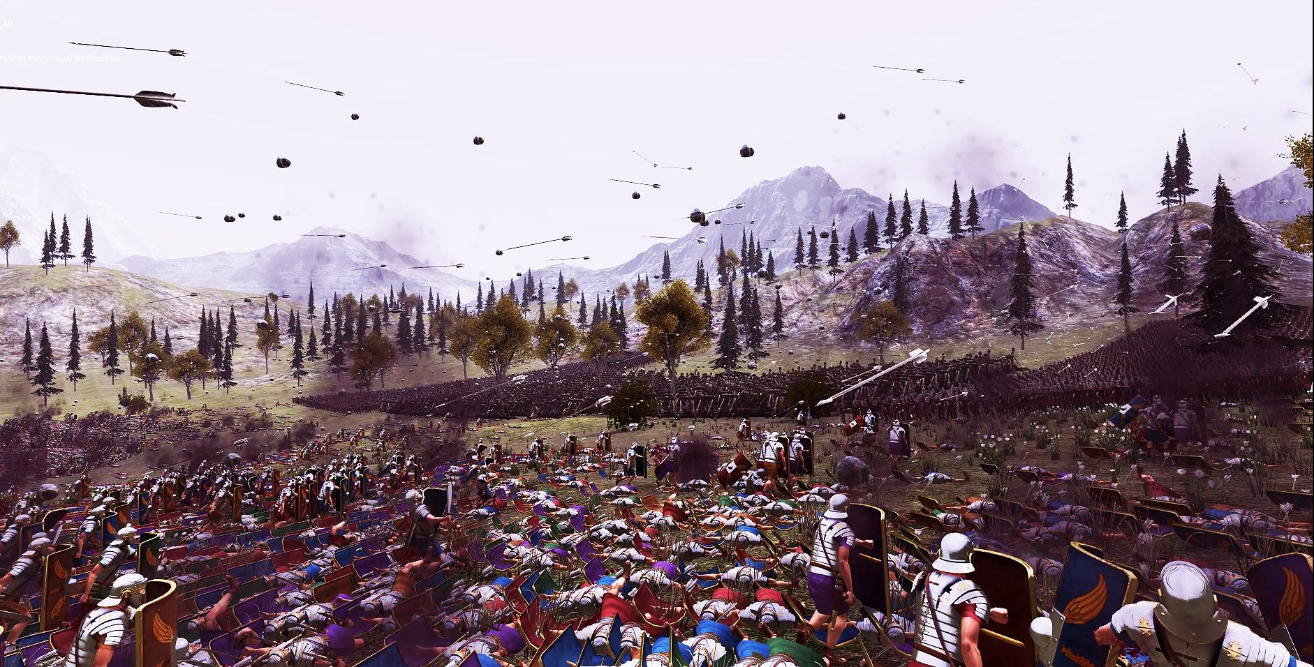 Screen z bitwy w Ultimate Epic Battle Simulator