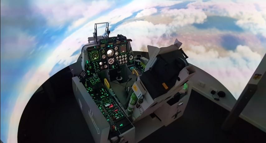 Kokpit F-16