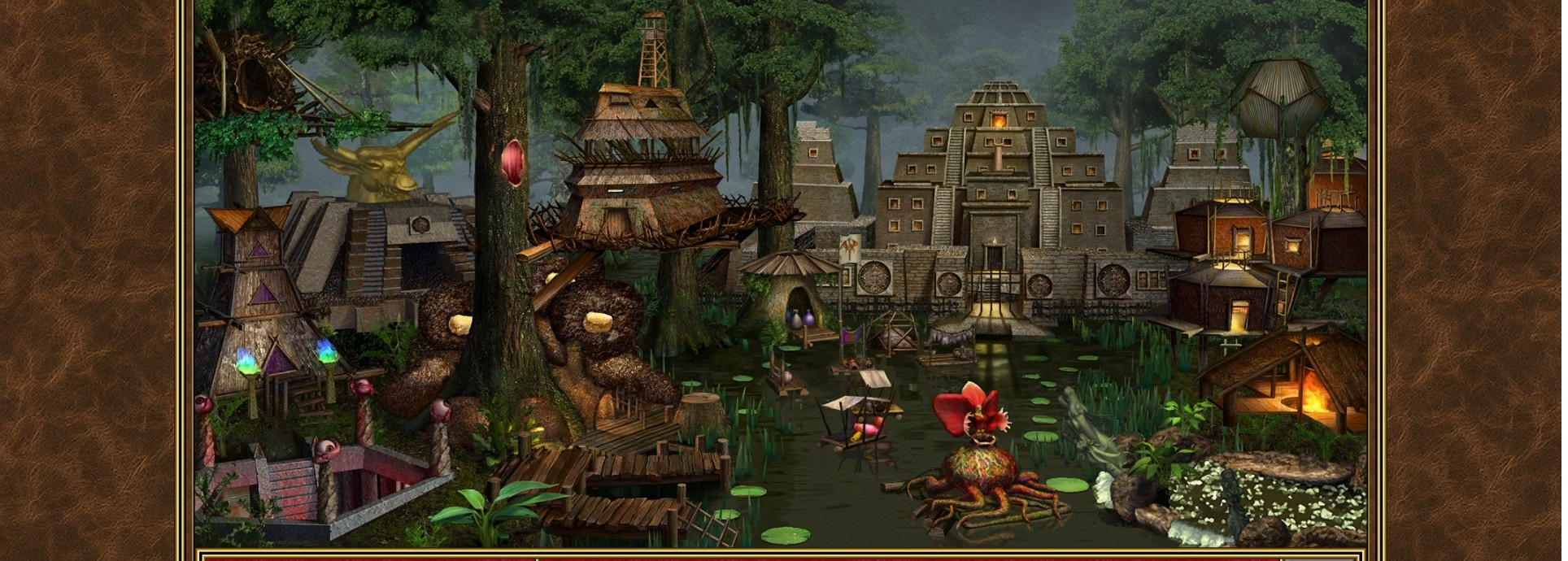 Grafika z gry Heroes of Might and Magic 3.