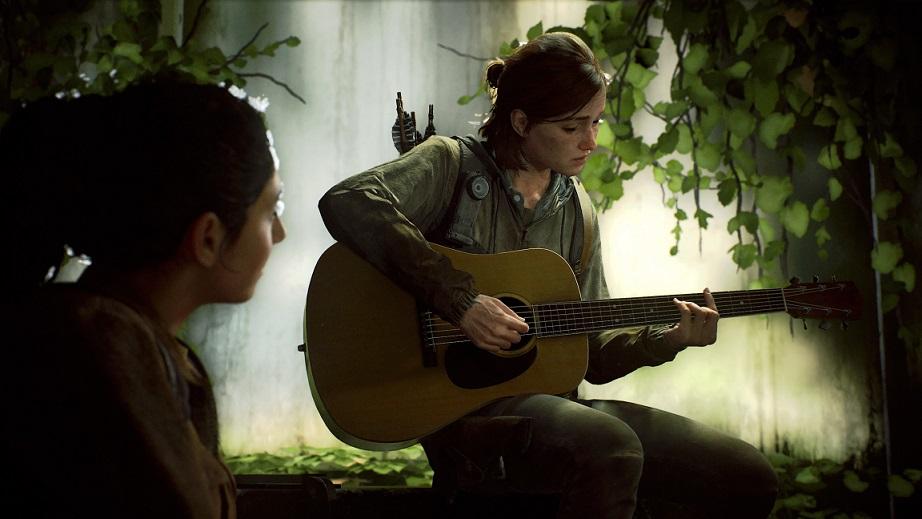 Ellie z The Last of Us Part II