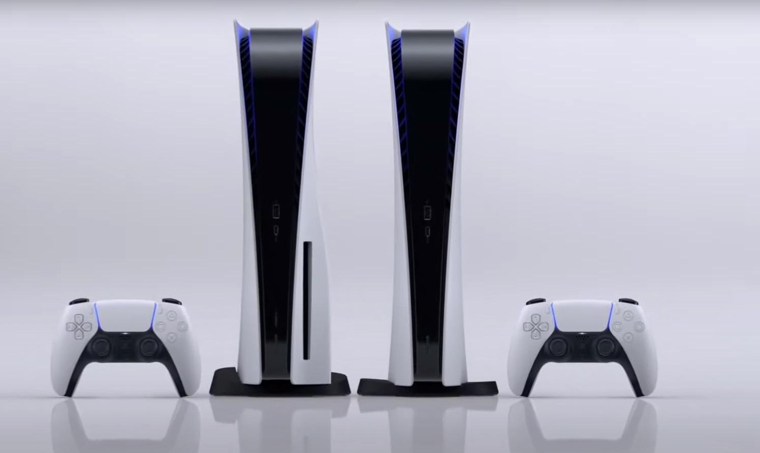 Konsole PlayStation 5 w wersji digital i z napędem oraz pady Dualshock 5