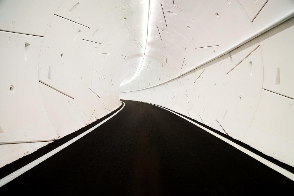 Tunel testowy w Hawthorne (Kalifornia).