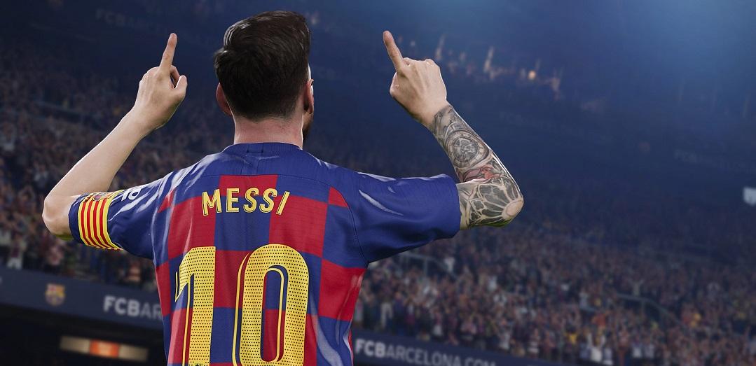 Messi w PES 2020