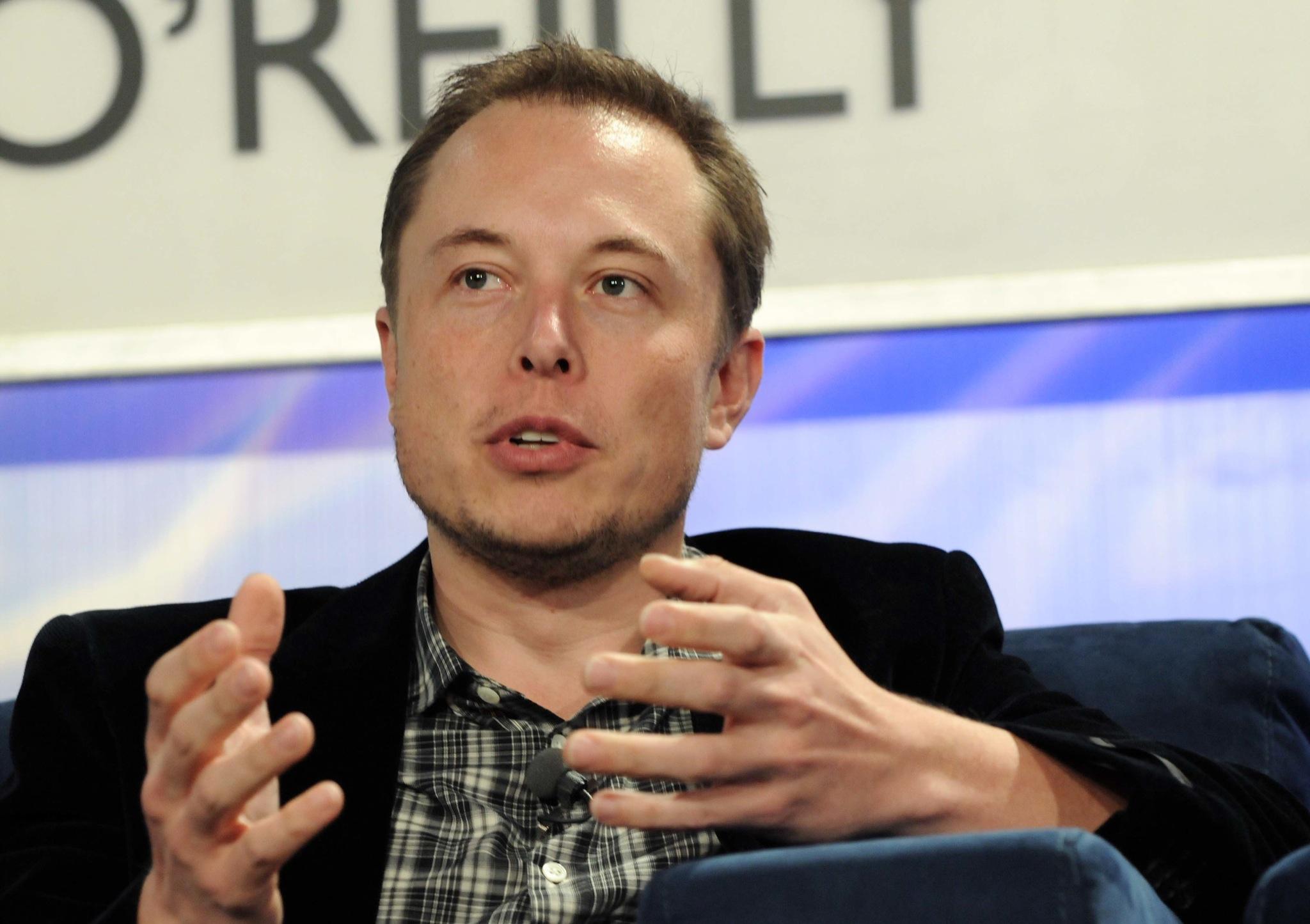 Elon Musk wystąpienie