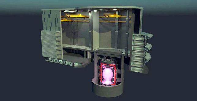 Wizualizacja elektrowni termojądrowej