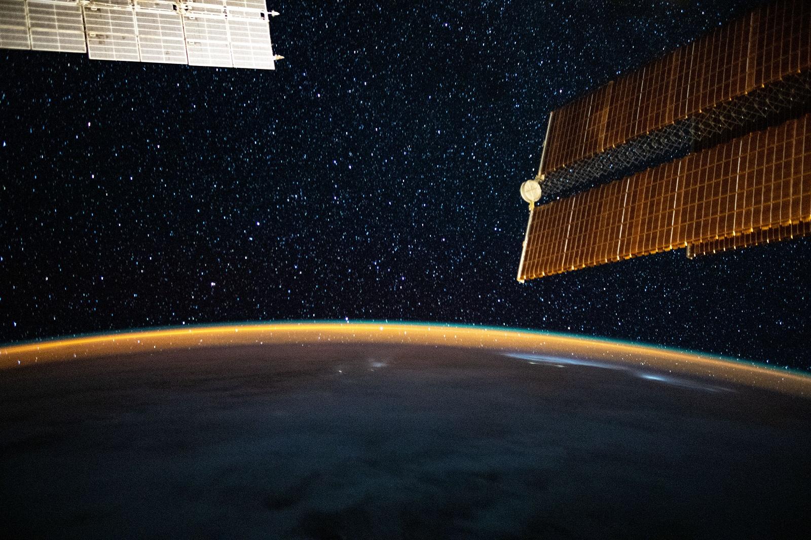 ISS Zdjęcie Drogi Mlecznej