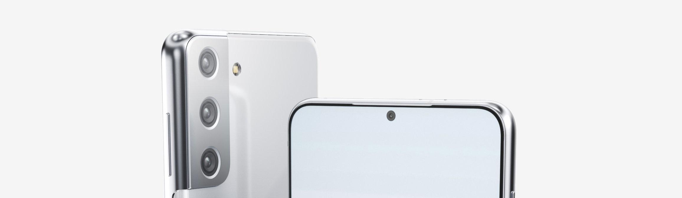 Samsung Galaxy S21+ - render z przecieków.