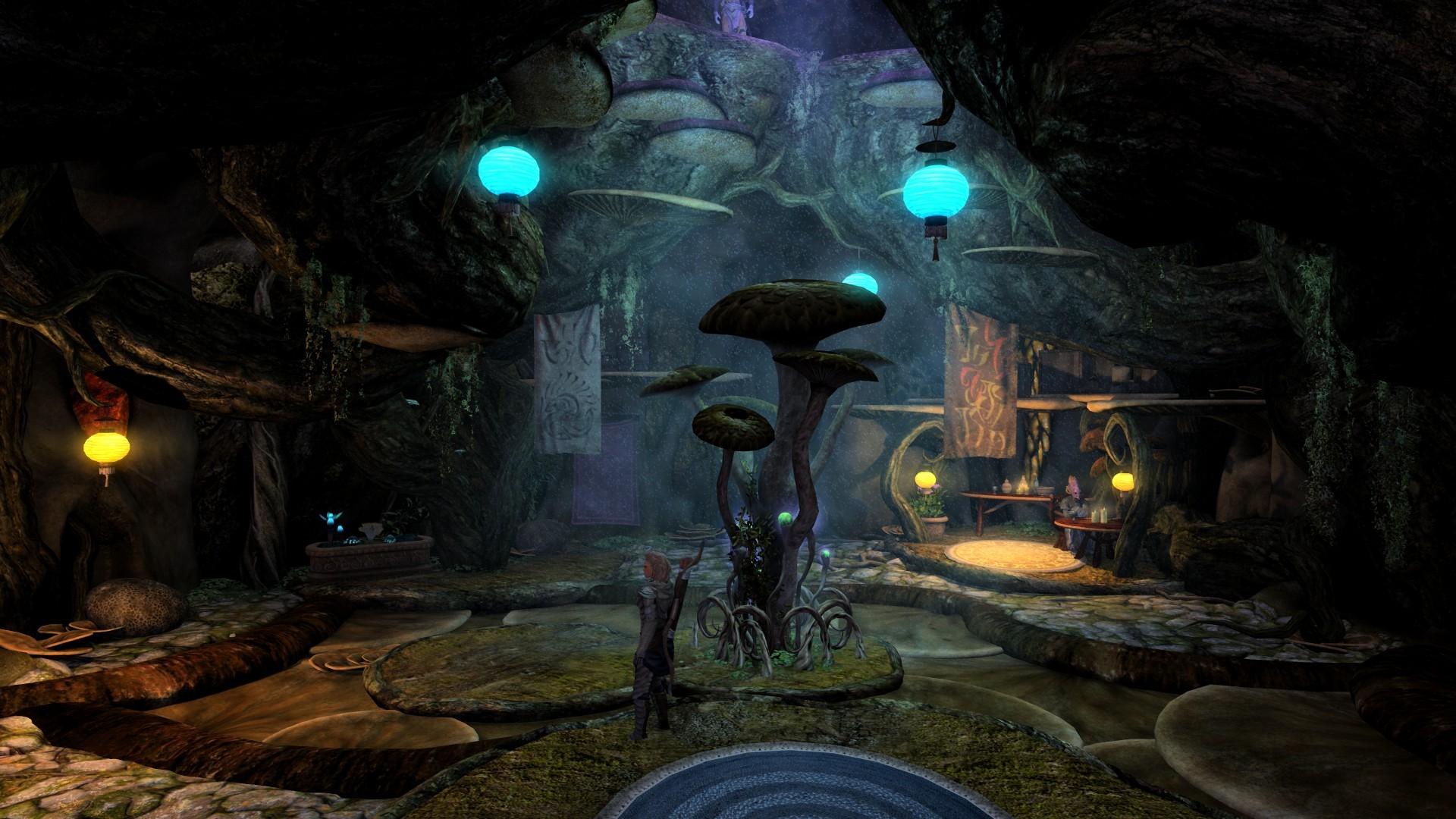 Fragment moda wprowadzającego do Skyrima lokacje z Morrowinda.