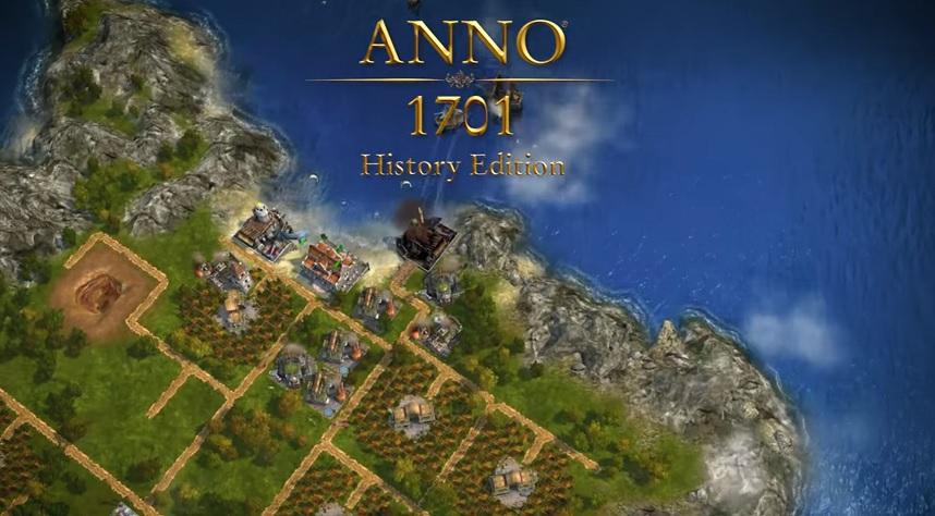 Fragment trailera Anno 1701 Edycja Historyczna