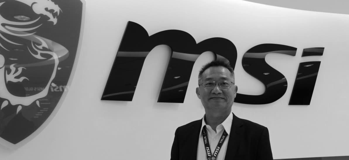 Sheng-Chang Chiang zmarły prezes firmy MSI.