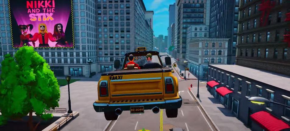 Fragment filmu, pt. Taxi Chaos - Announcement Teaser
