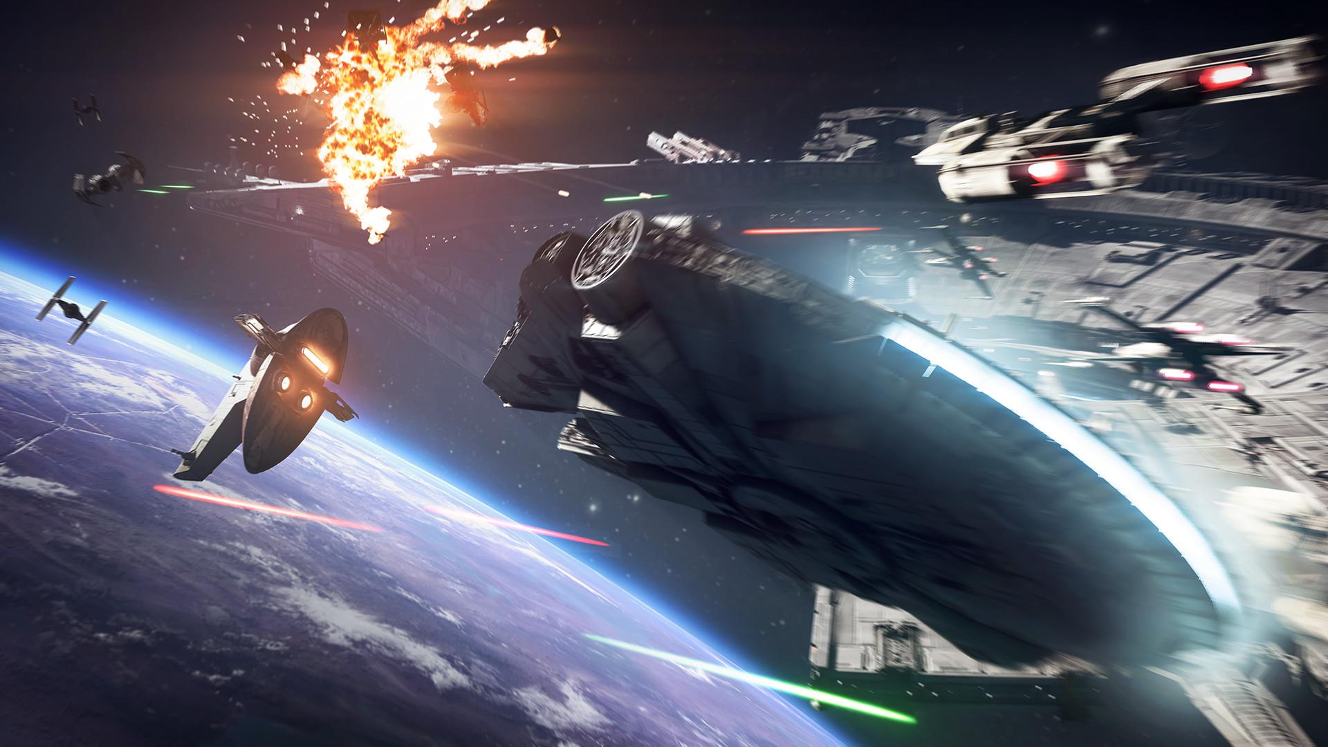Star Wars Battlefront 2 - screen z gry