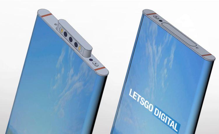 Render wzoru patentowego Xiaomi