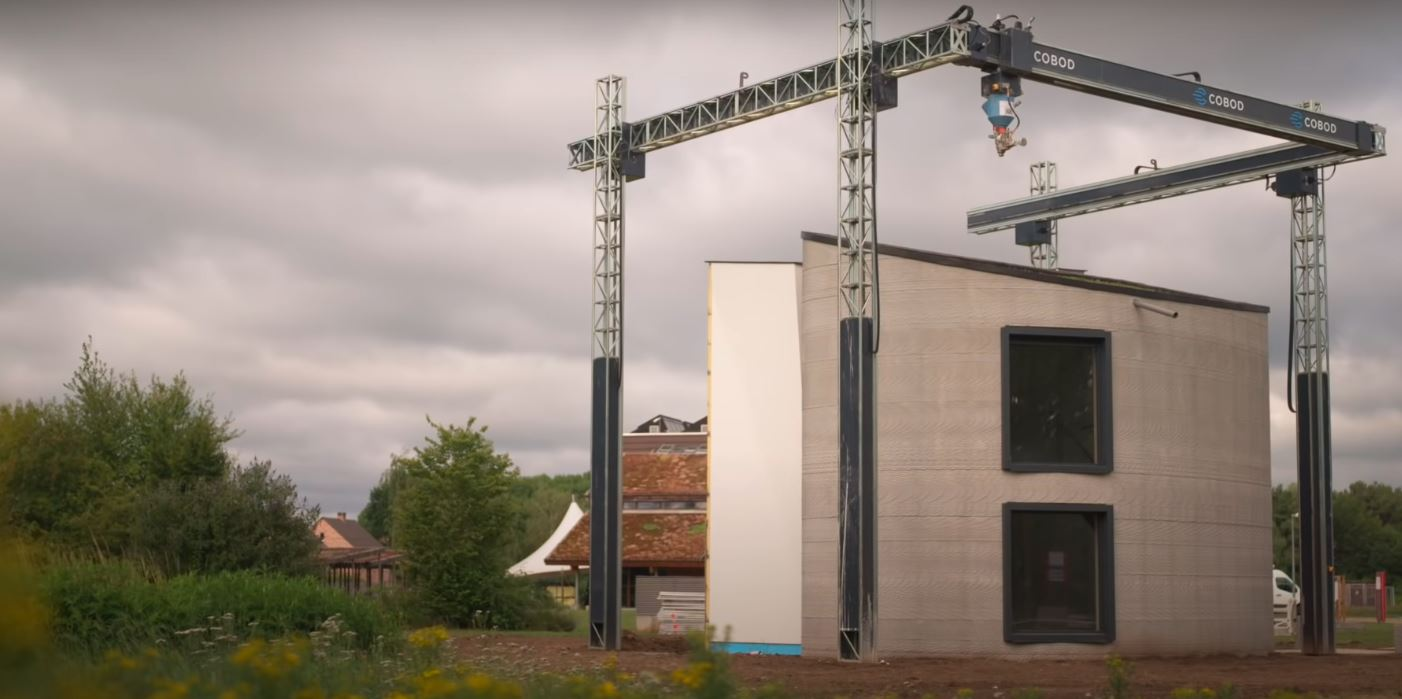 Dom stworzony za pomocą druku 3D