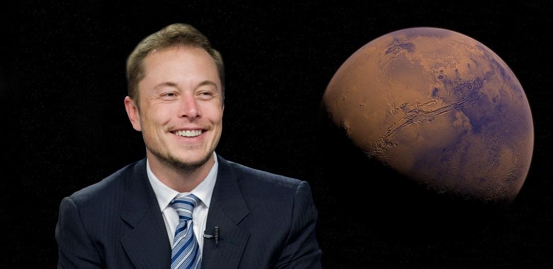 Elon Musk i Mars
