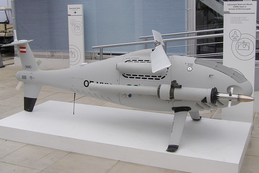 Prototyp drona Baby Shark.