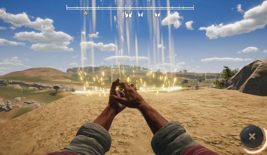 Kadr ze zwiastuna gry I Am Jesus Christ