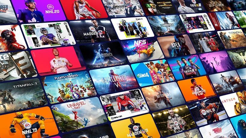 Xbox Game Pass biblioteka