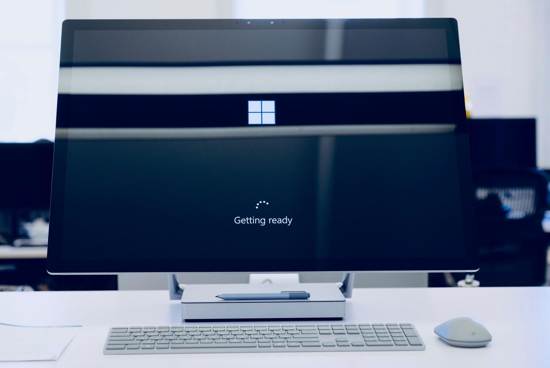 Podnoszący się Windows 10