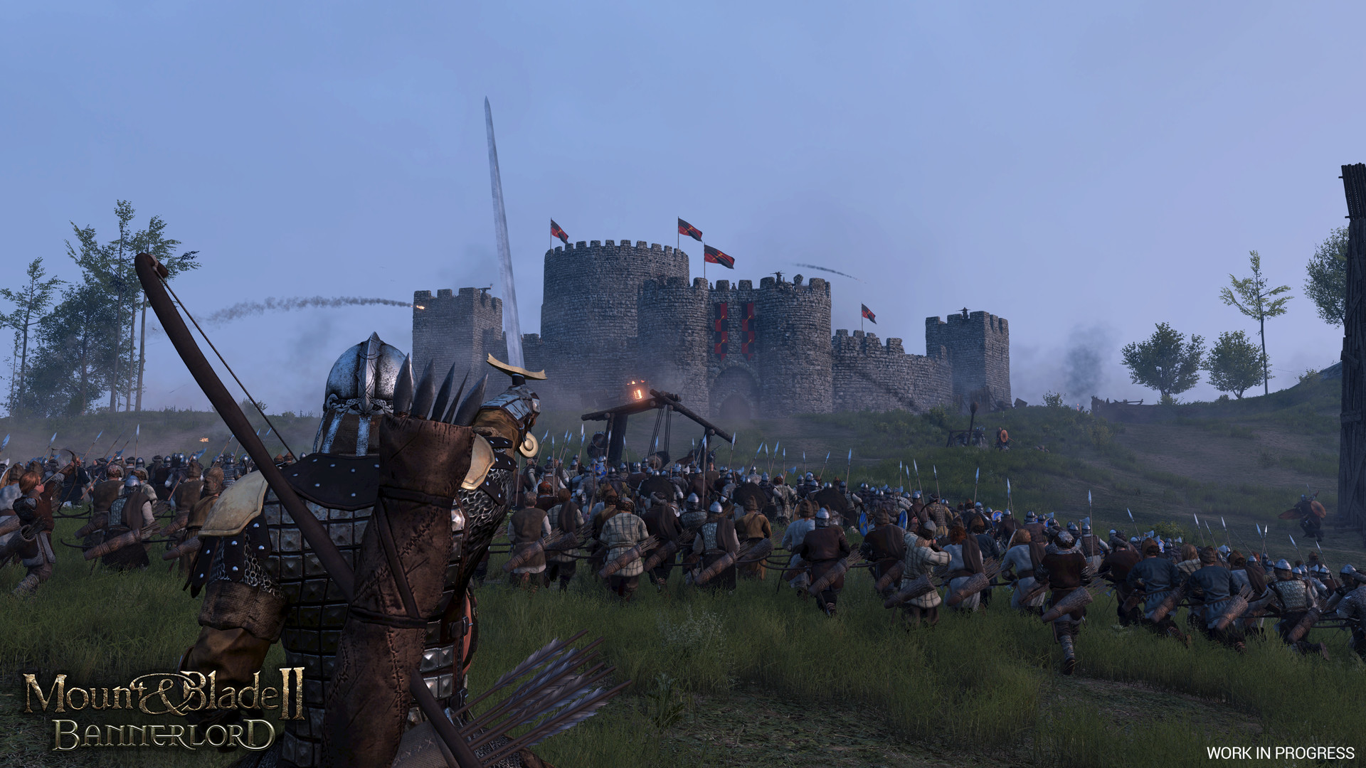 Mount and Blade II Bannerlord oblężenie