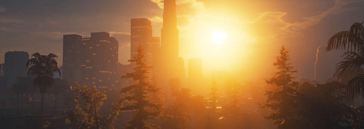 Fragment prezentacji zmodowanej wersji gry GTA San Andreas.