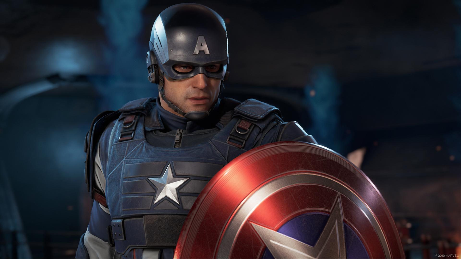 Kapitan Ameryka w grze Marvel's Avengers