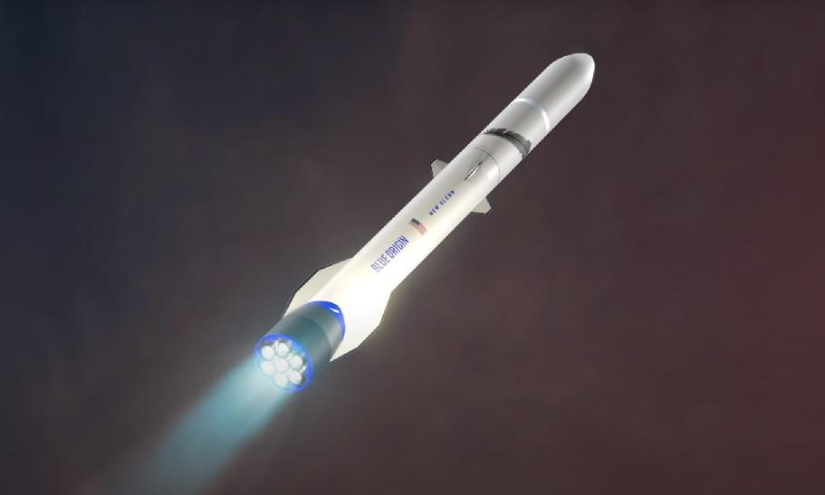 Rakieta New Glenn firmy Blue Origin