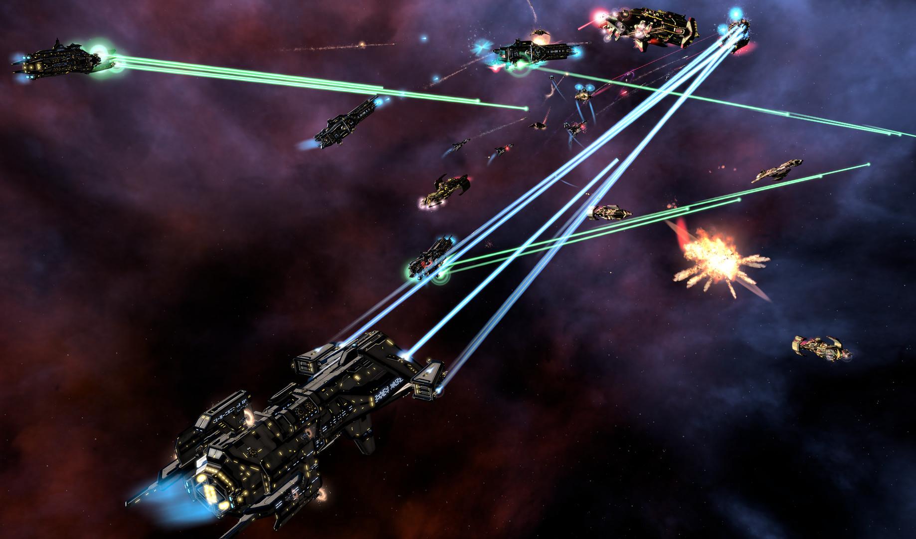 Galactic Civilizations III screen