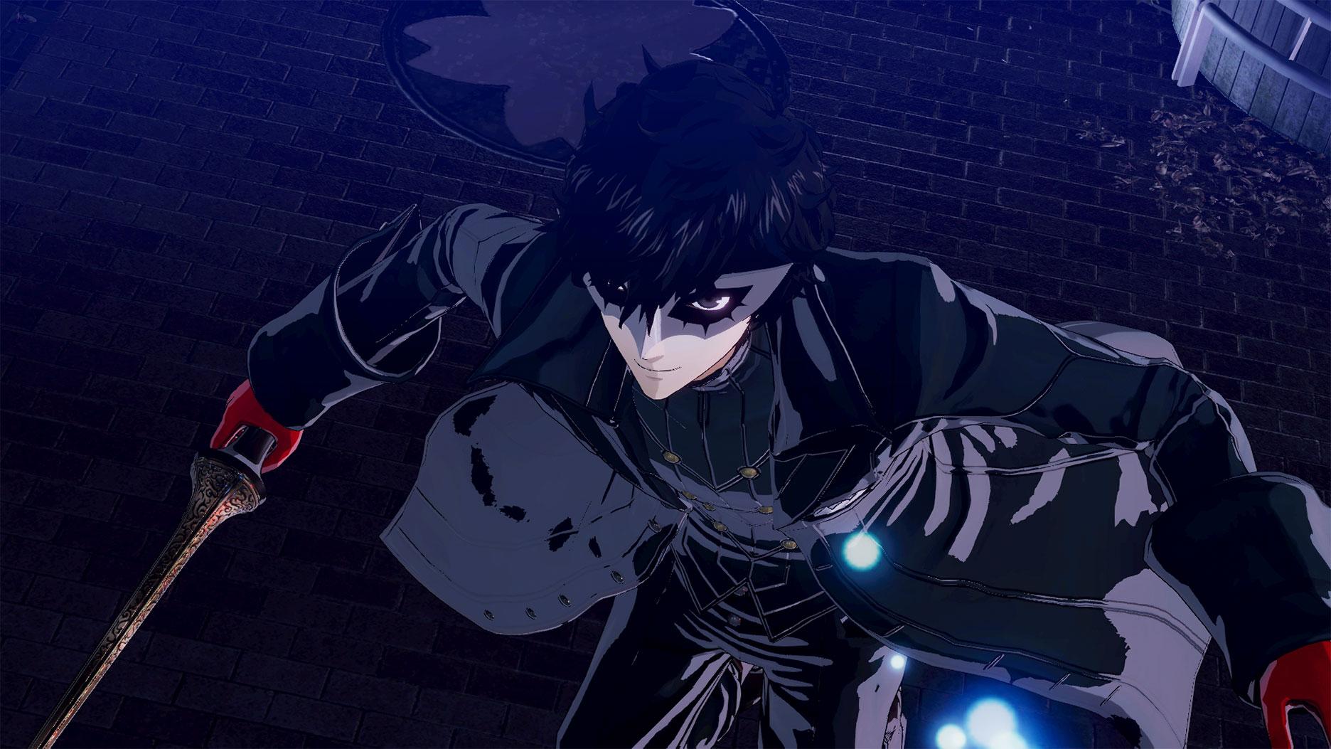 Screen z Persona 5 przedstawiający Protagonistę