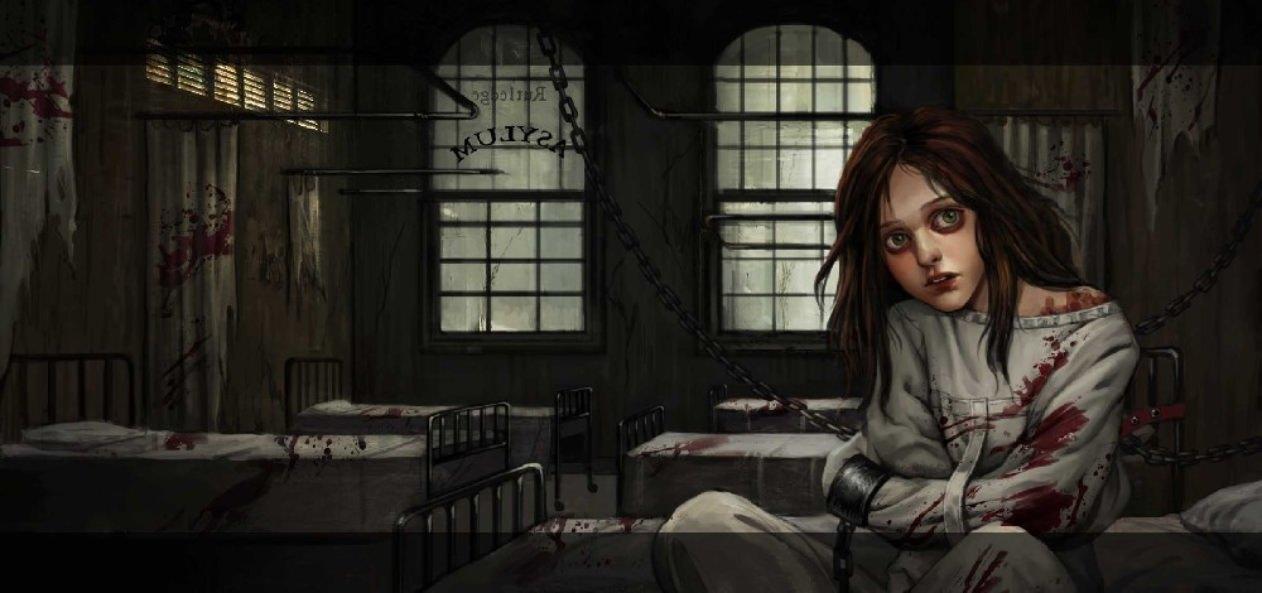 Alice Asylum concept art