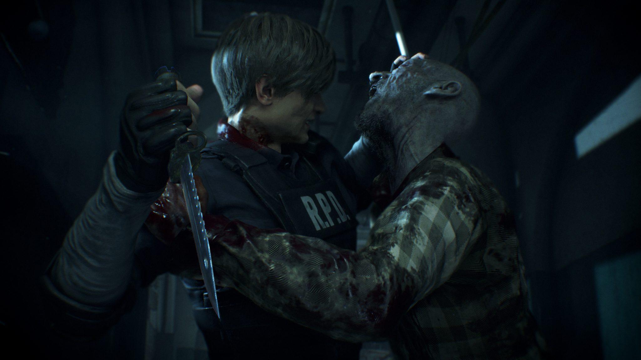 Resident Evil 2 walka